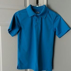 Turquoise blue Dri-Fit polo